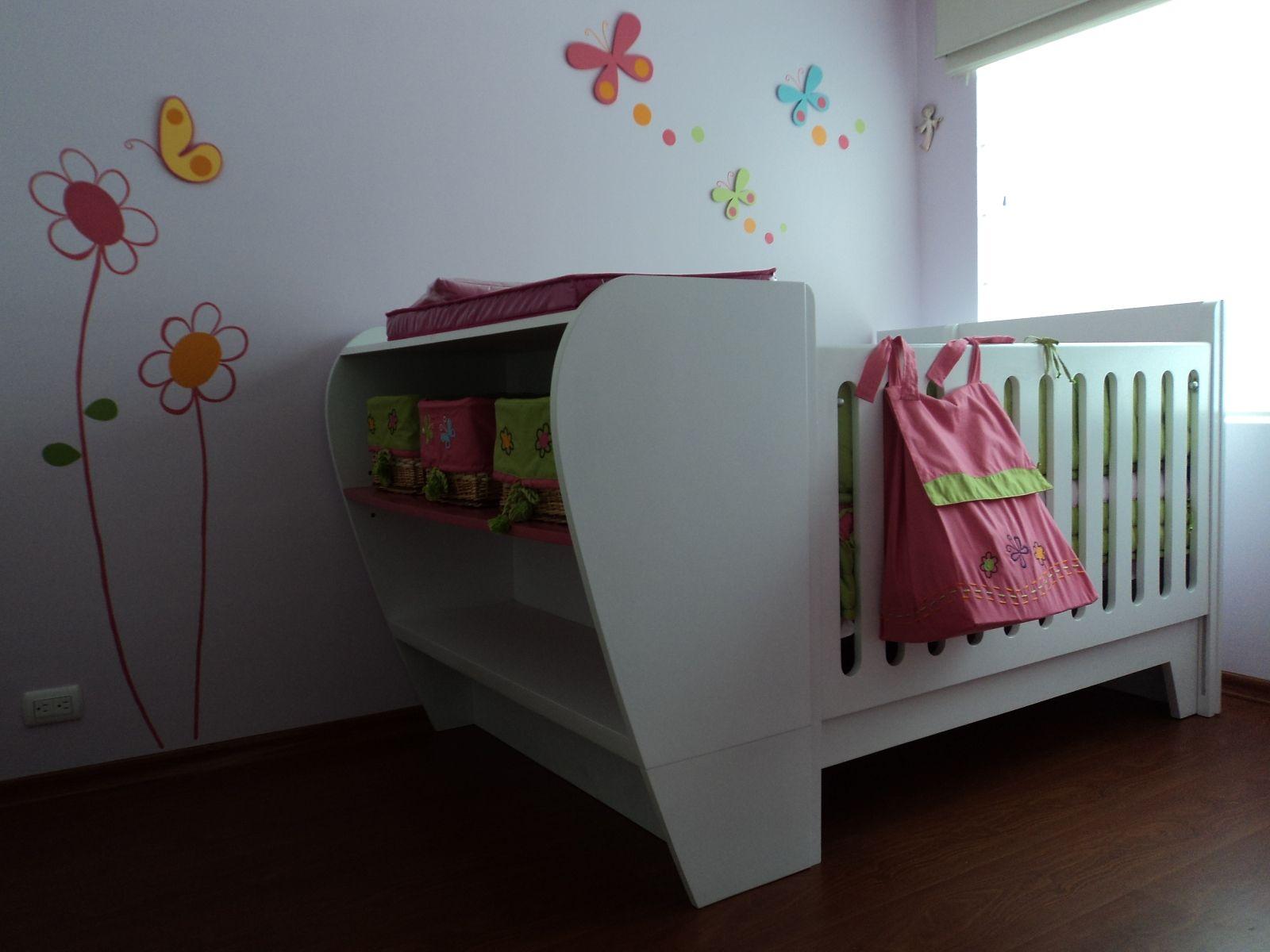 Decoraci n personalizada de habitaciones para bebes y - Decoracion cuarto bebe ...