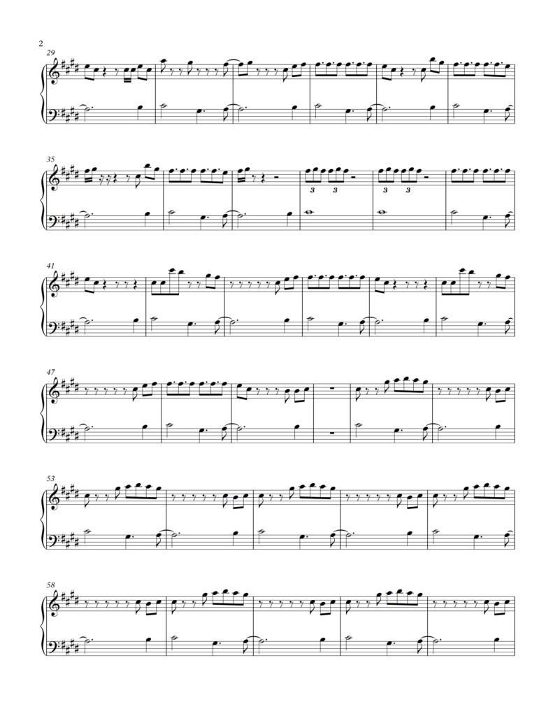BTS - DNA | BTS | Easy piano sheet music, Piano sheet, Free piano sheets