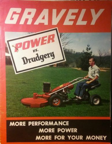 Manuals and Guides 42229 Gravely L Li Ls 1960 66-Hp Lawn Garden