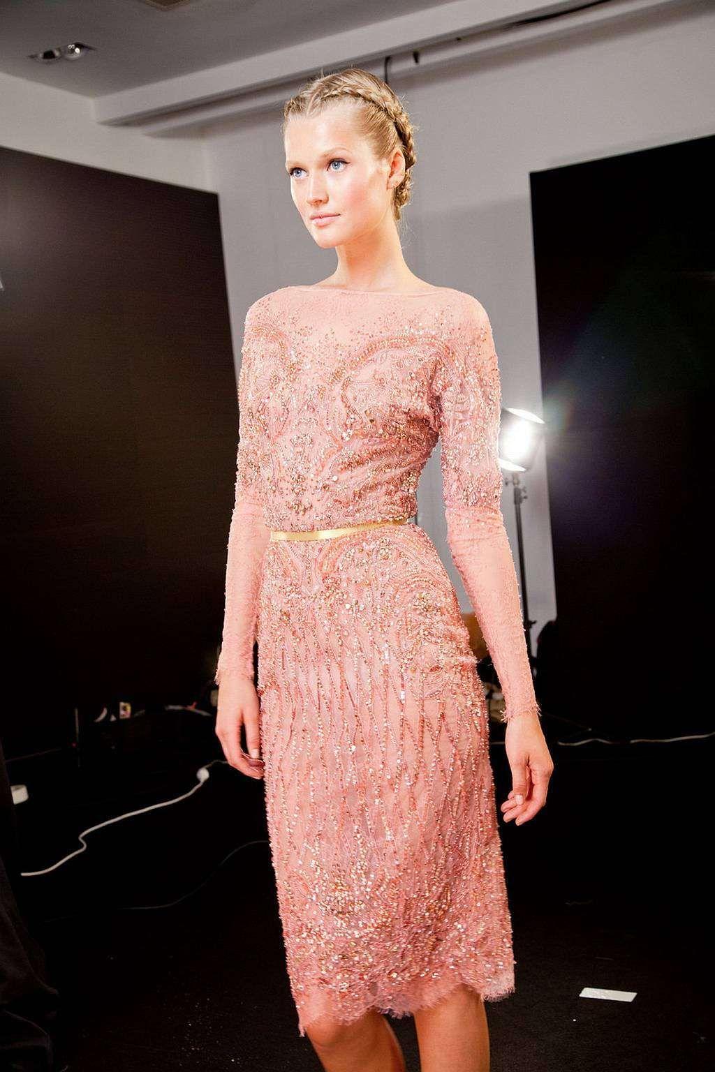 Elie Saab Haute Couture Autumn 2012 - Backstage | my pret-a-porter ...