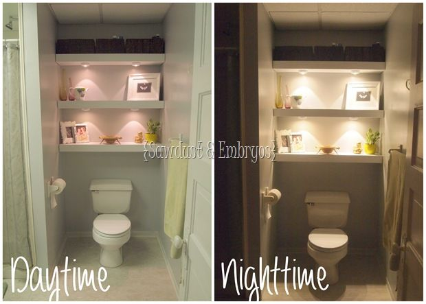 building a floating shelf in your toilet cove bathroom shelves over