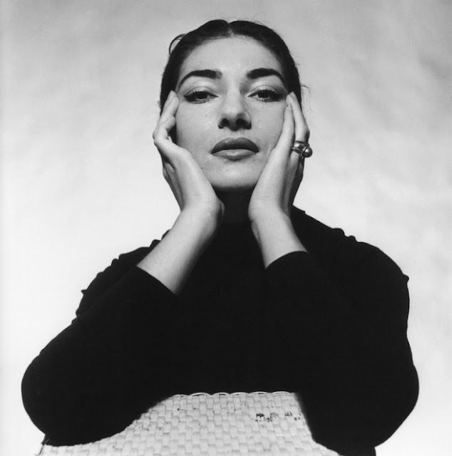Maria Callas photographed by Cecil Beaton.  Such a strong, striking face full of life and passion.