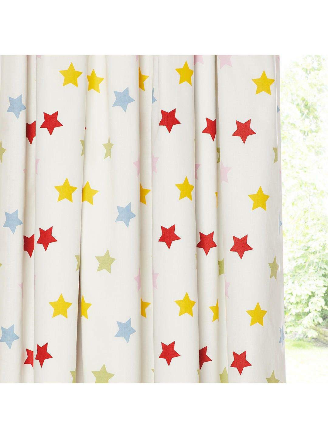 Little home at john lewis stars pencil pleat blackout lined