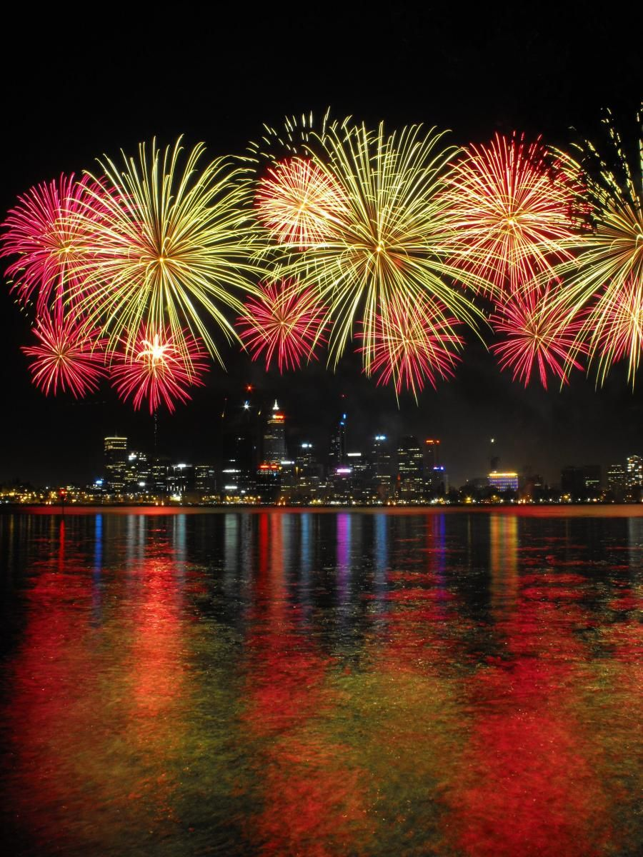 Perth Australia Best Fireworks Western Australia Fireworks