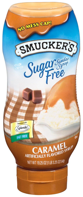 Smucker's Sundae Syrup(TM) Sugar Free Caramel Flavored ...