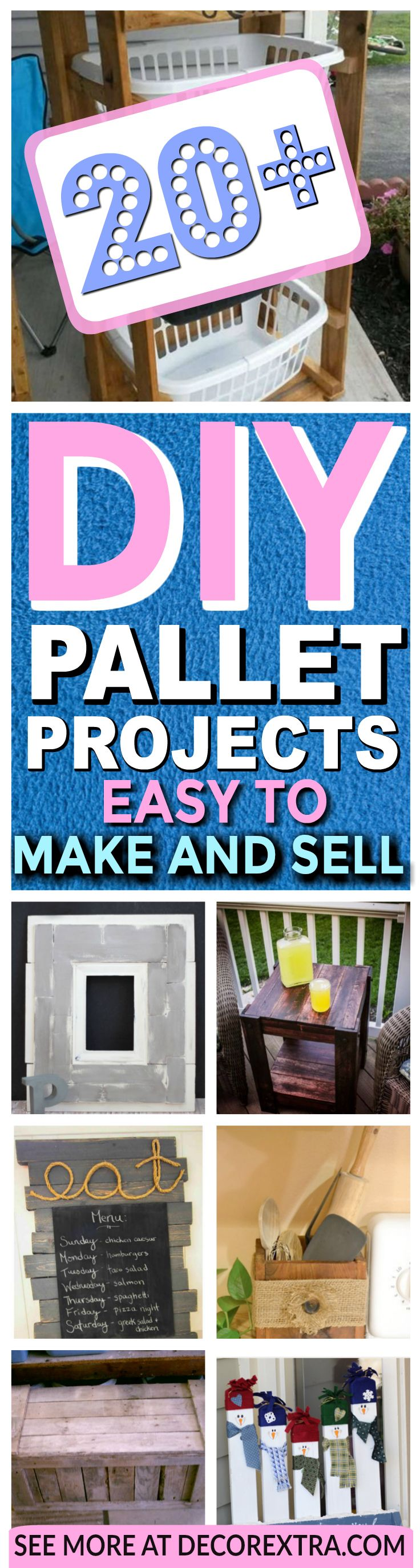 Easy Pallet Projects And Crafts To Make Sell Cool Tables Cheap DIY Ideas Craft You Can On Etsy Wooden Made