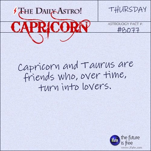 Capricorn 8077: Visit The Daily Astro for more facts about Capricorn.