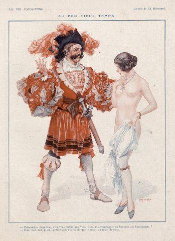 La Vie Parisienne, 1923 ~ Chéri Hérouard