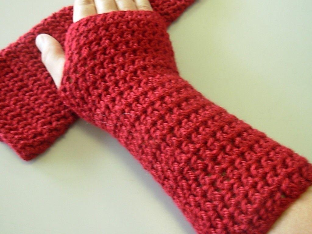 Contemporary Crochet Wrist Warmer Patterns Ornament - Sewing Pattern ...