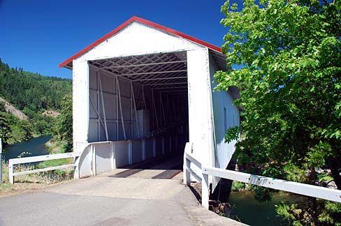 Milo Bridge: Douglas County,Or