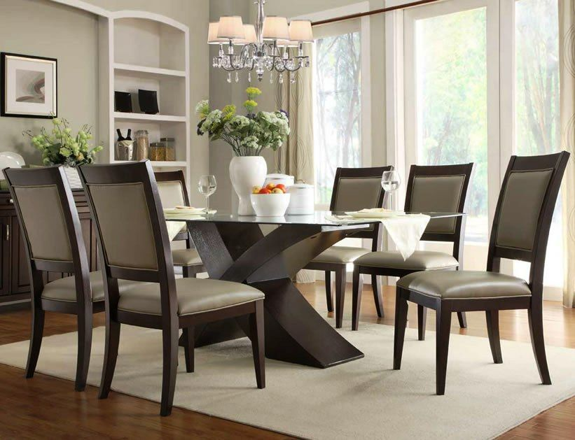 15 Stunning High End Dining Table Design Ideas Glass Dining Room Table Glass Dining Room Sets Glass Dining Table
