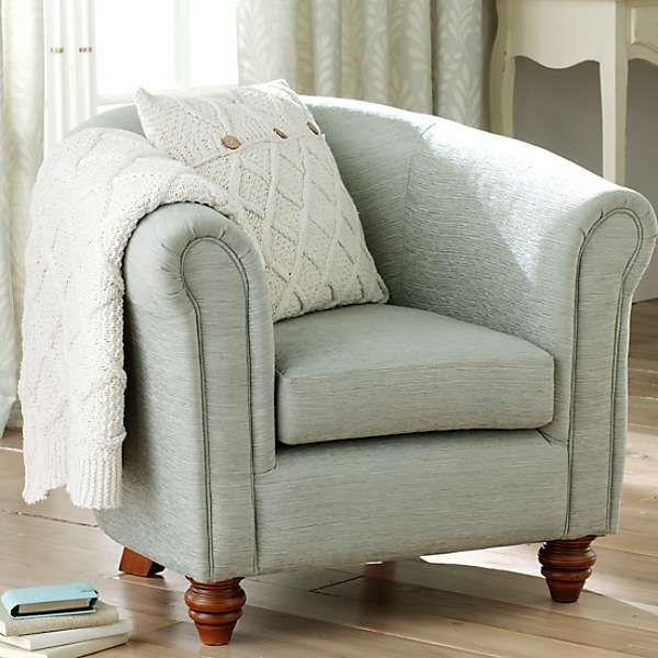 Sudbury Duck Egg Tub Chair Small Sofa