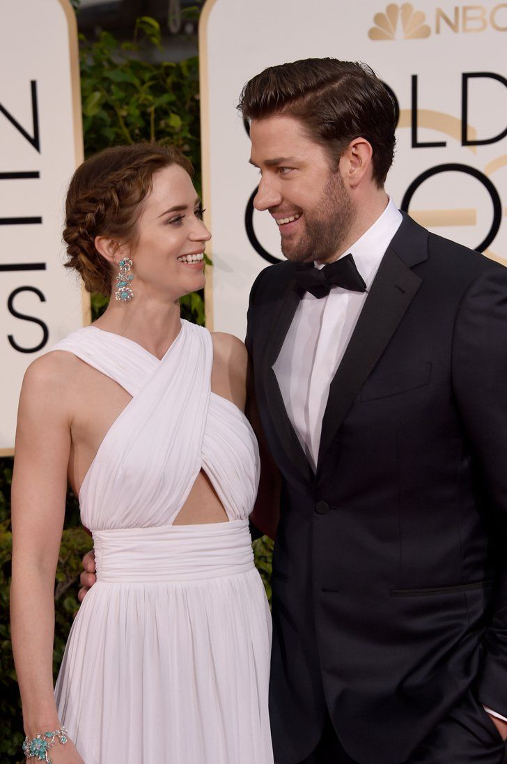 Pin for Later: John Krasinski and Emily Blunt Really Have the Look of Love Down