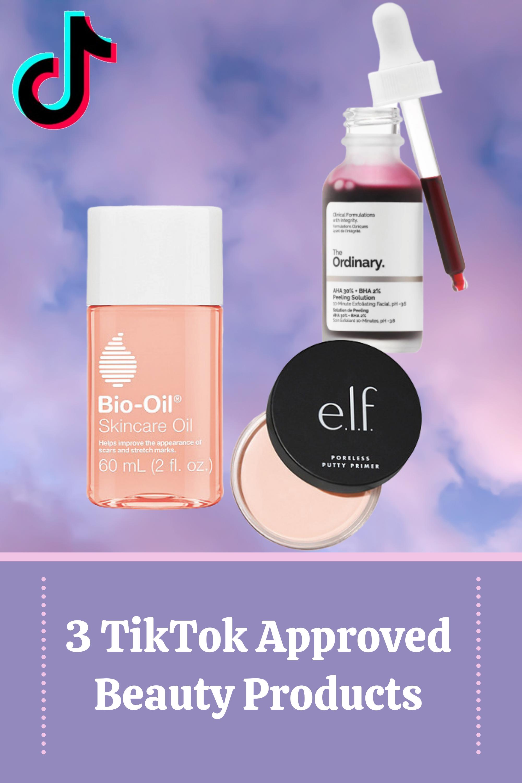 TikTok Beauty Products in 2020 Body skin care, Oil skin