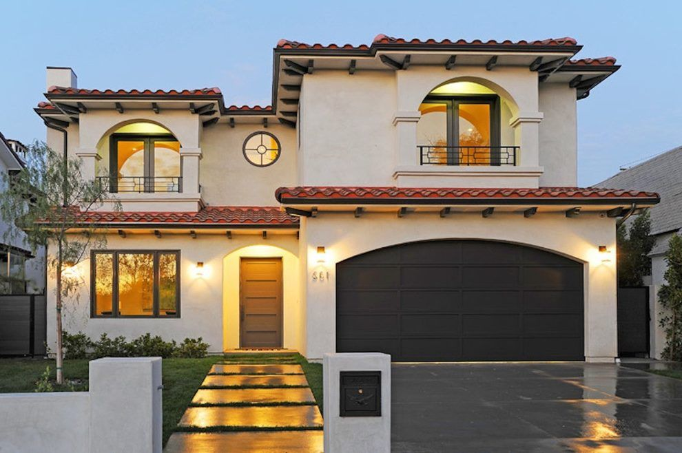 Best Image Result For Modern White Stucco House Red Tile Roof 640 x 480