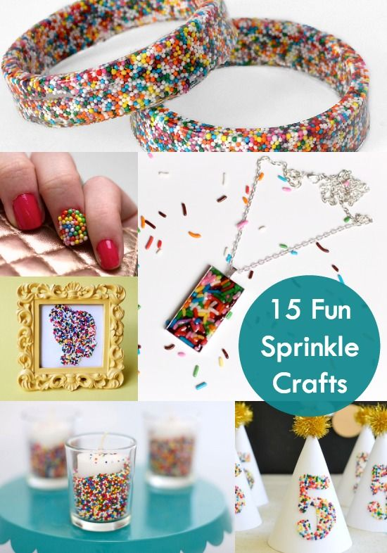Crafting With Sprinkles 15 Fun And Easy Ideas Birthday