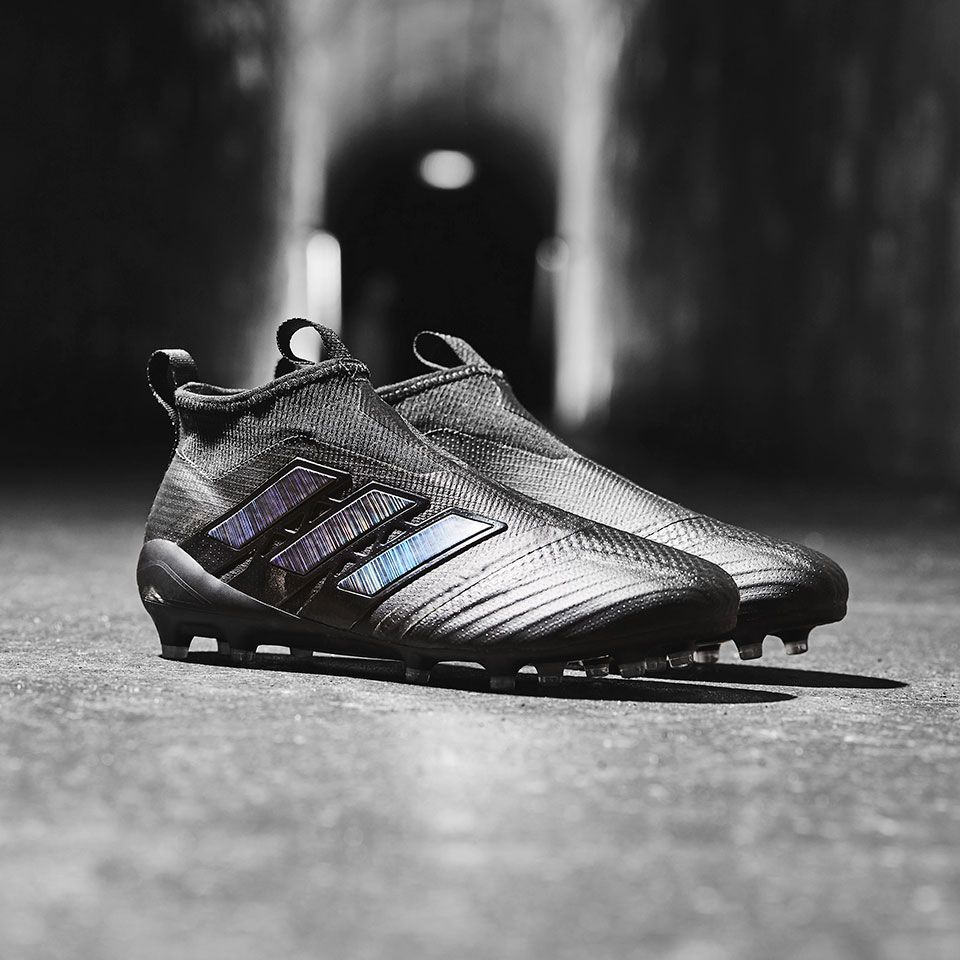Sepatu Bola Adidas Ace 17 Purecontrol Fg Core Black Utility Black