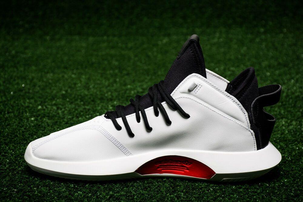 Adidas Originals Crazy 1 Adv Gr 44 Aq0320 Weiss Schwarz Rot Reebok Exofit Rot Schwarz Sneaker