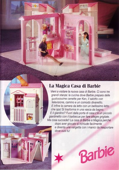 colleziona casa di bambole anni 90