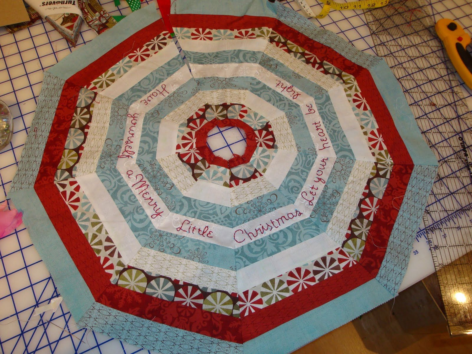 Discover Ideas About Tabletop Christmas Tree Christmas Table Runner
