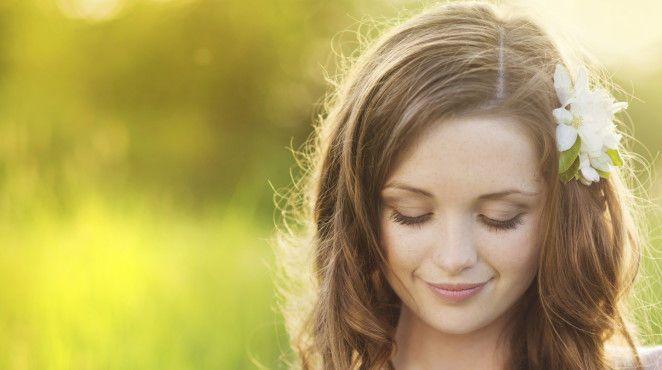 accessoires für das haar - Blumen im Haar: Frisuren nicht nur für Hippies