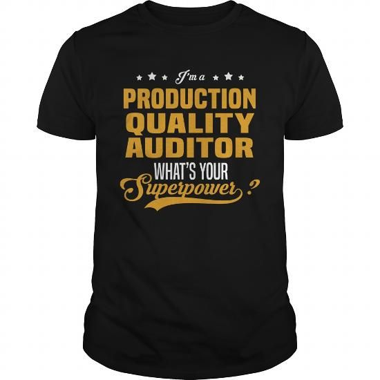 Awesome Tee Production Quality Auditor Shirts & Tees #tee #tshirt #Job #ZodiacTshirt #Profession #Career #auditor