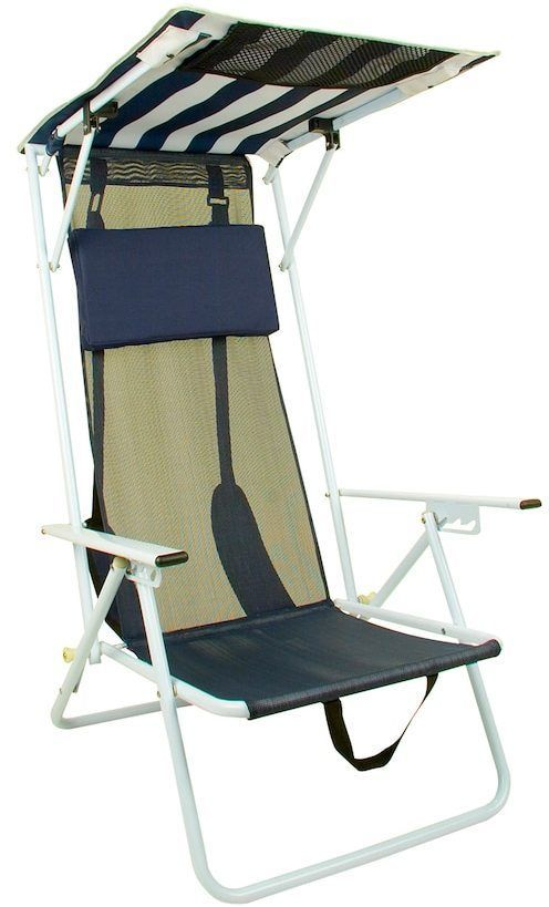 Quik Shade Outdoor Folding Beach Chair