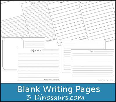 blank writing page printable dinosaurs com dinosaurs blank writing page printable 3dinosaurs com