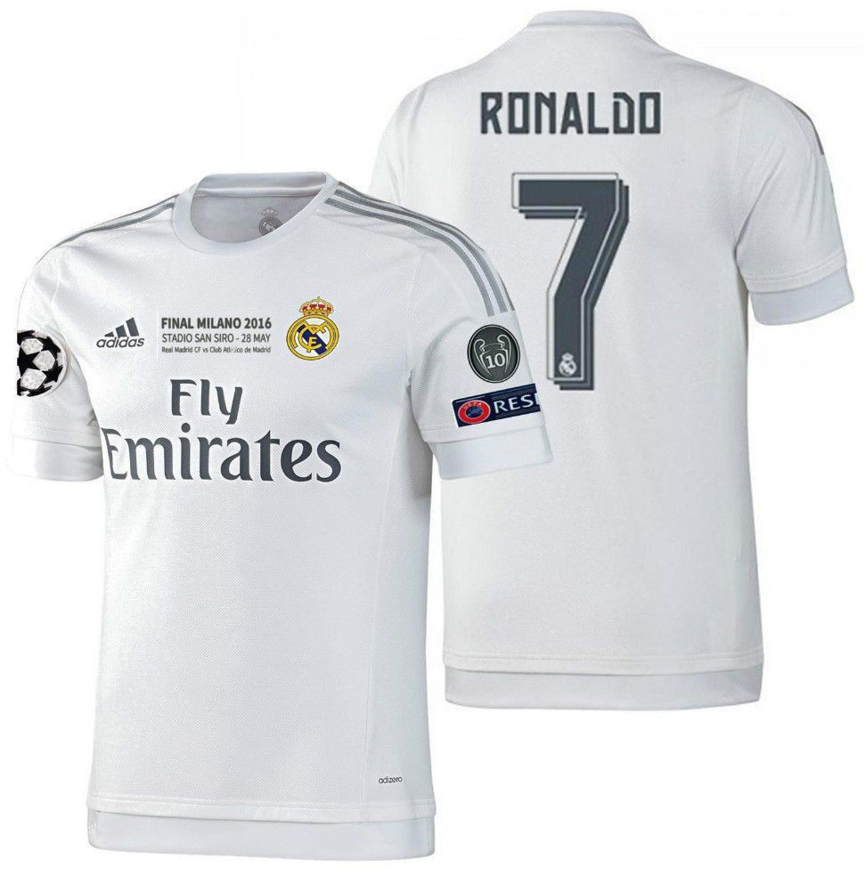 the best attitude 83d3f 37a92 Real Madrid Jersey 2015 Ronaldo Jersey
