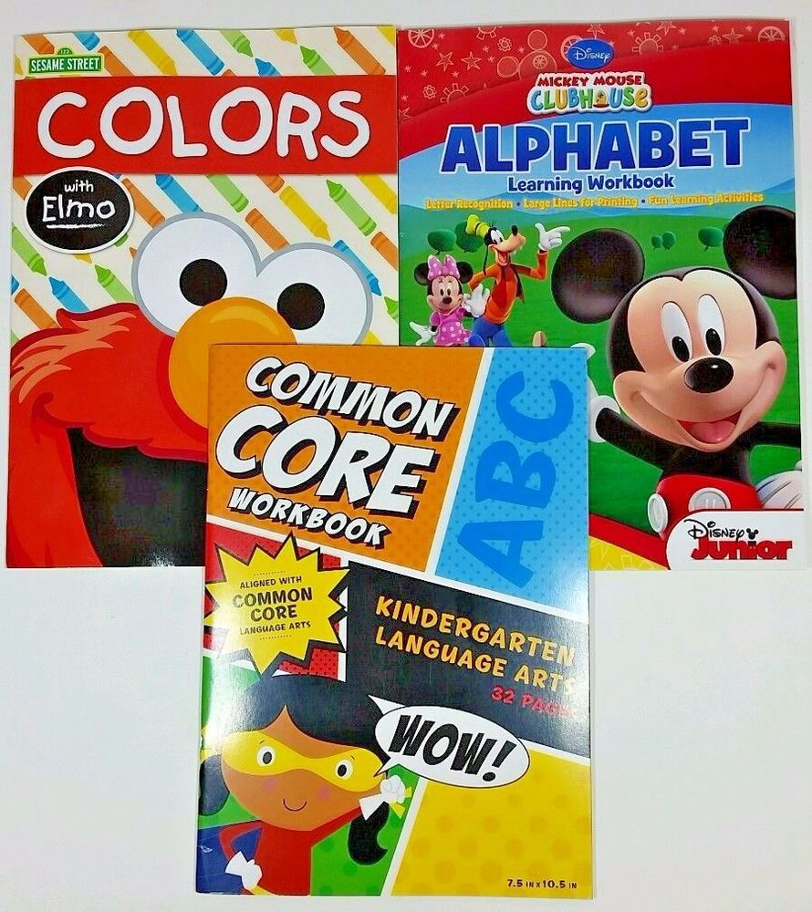 Workbooks kindergarten common core workbook : Details about 3pk Kindergarten Common Core Education Language ...