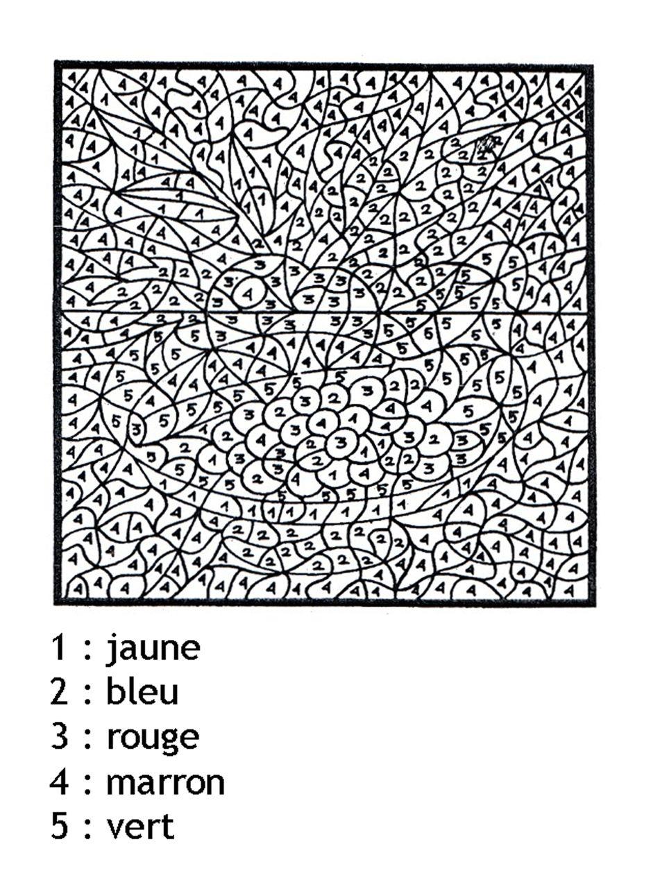 coloriage magique a imprimer mystere chiffres