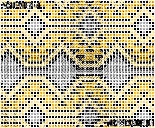 Tapestry Crochet Wayuu Pattern - Free from AllTapestryCrochet.com ...