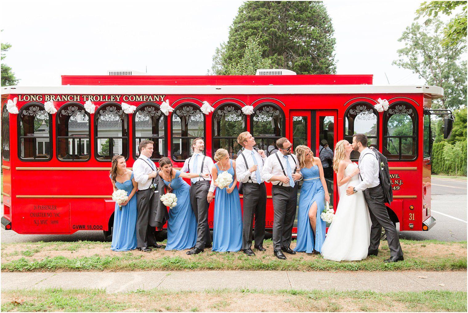 Long Branch Trolley Company Trolley Service for Weddings