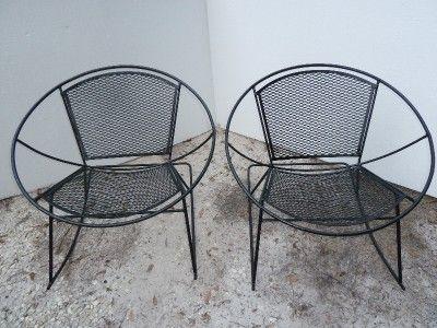century salterini wrought iron patio
