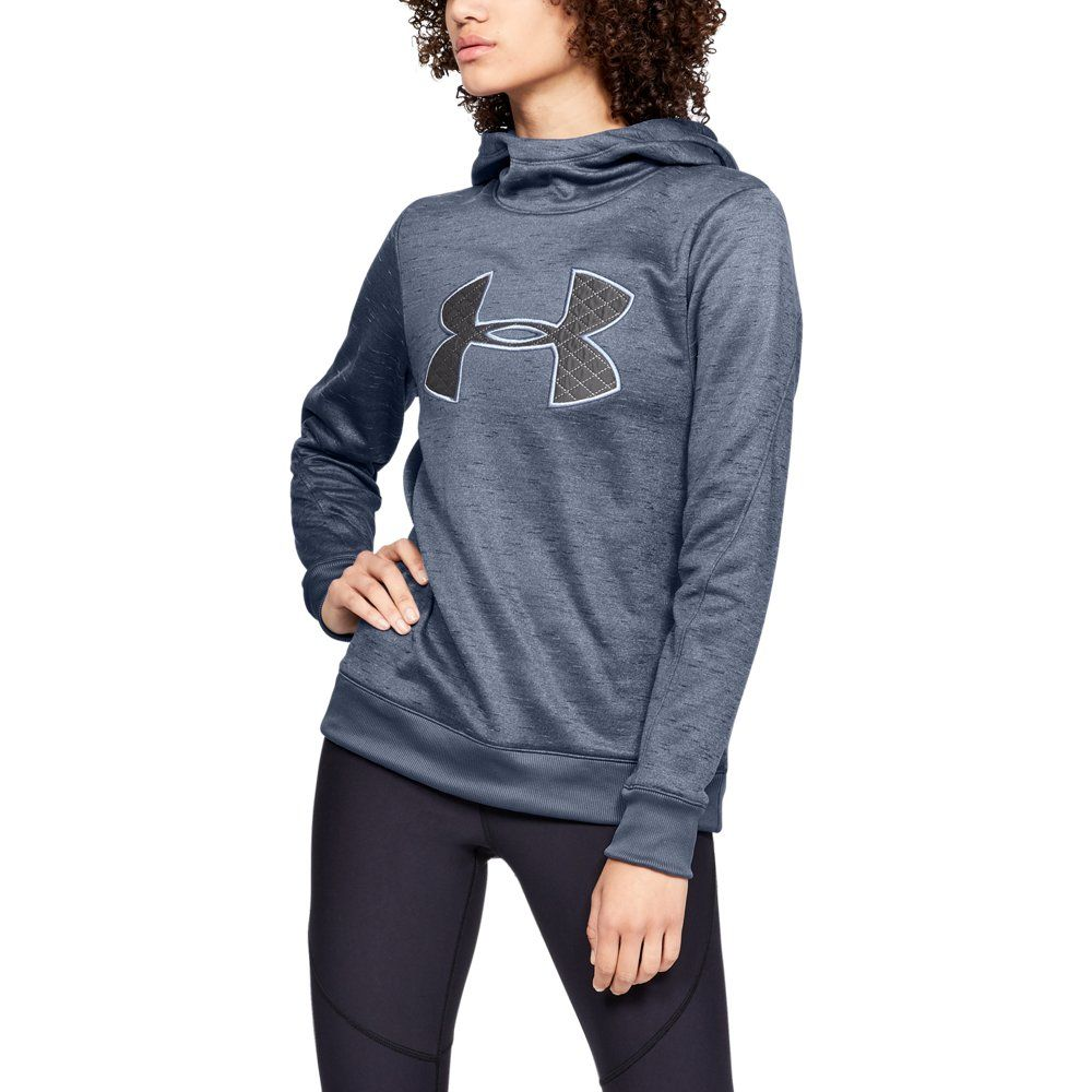12ad17f75a Armour Fleece Big Logo - Black LG | Products | Hoodies, Under armour ...