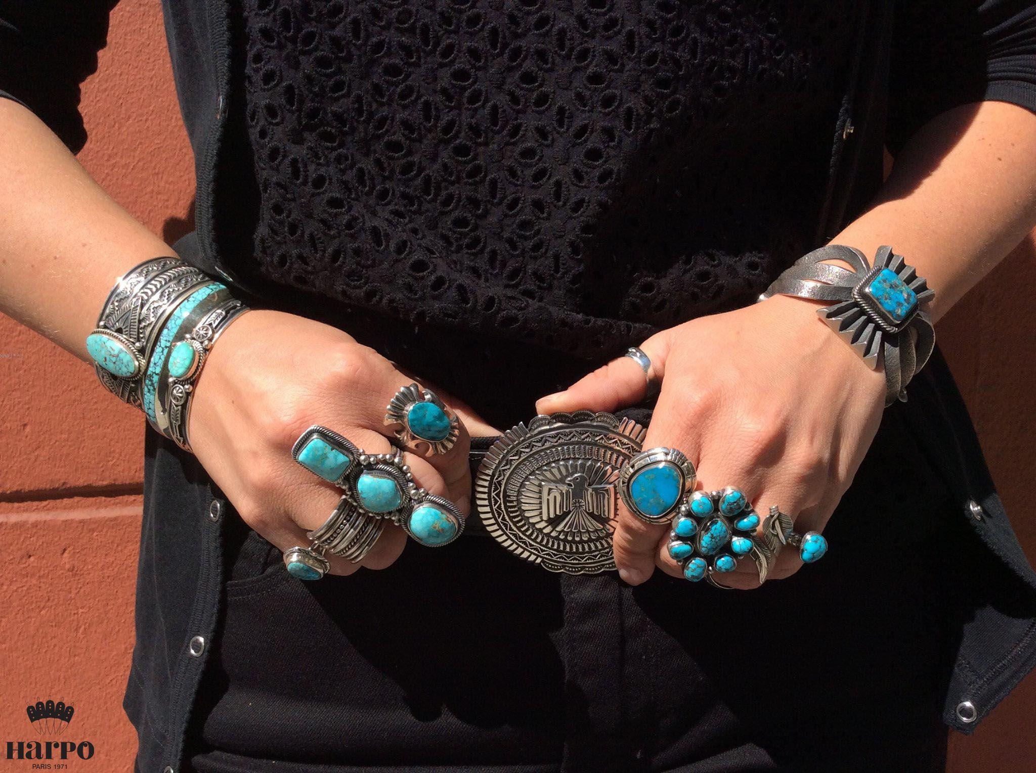 Boutique en ligne Harpo. Découvrez notre collection de bijoux en argent et  en turquoise amérindienne, ainsi que nos objets rares et accessoires issus  de