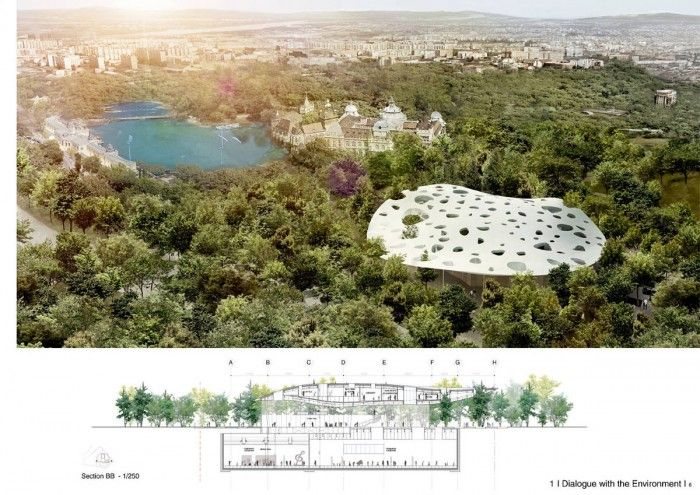 House of Hungarian Music– Sou Fujimoto Architects- Image Courtesy: Sou Fujimoto Architects - How To Win An Architectural Competition