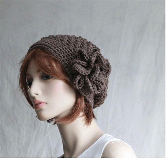 Slouchy Hat Crochet Womens Hat Winter Hats by endlesscreation | Hats ...