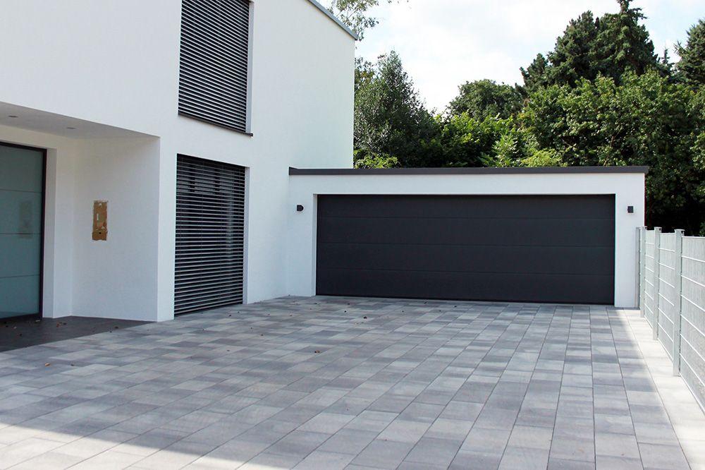 Ahnliches Foto Garagenbau Doppelgarage Haus Aussen