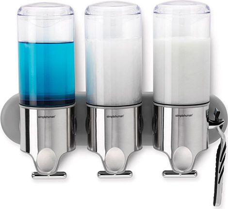 Simplehuman Shampoo Soap Dispensers 30 90 Summer 09