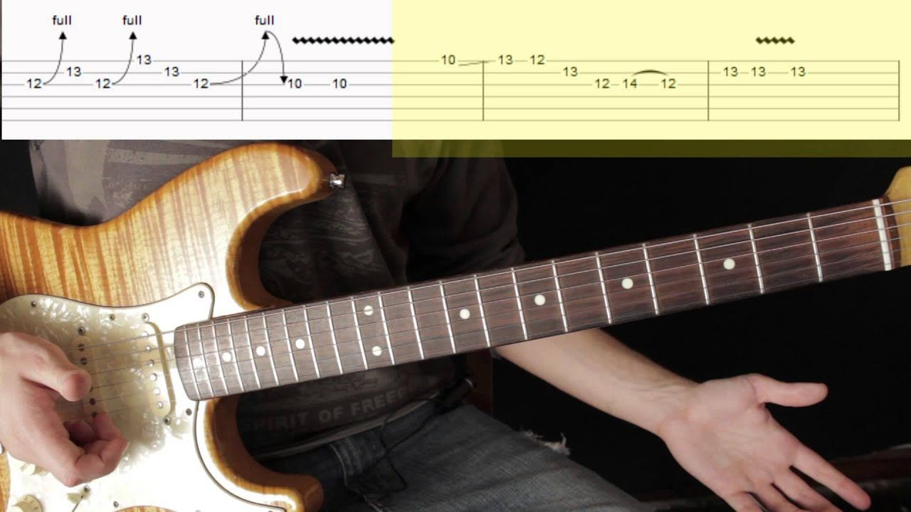 Como Tocar El Solo 1 Sultans Of Swing Dire Straits Tutorial Mark Kn Apuros Mark Knopfler Swing