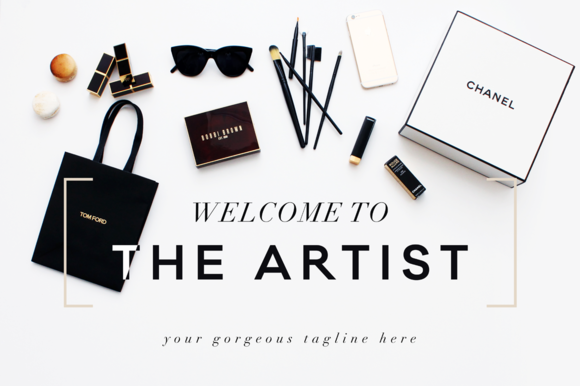 Check out Makeup/Fashion Header Images by Design Love Shop on Creative Market