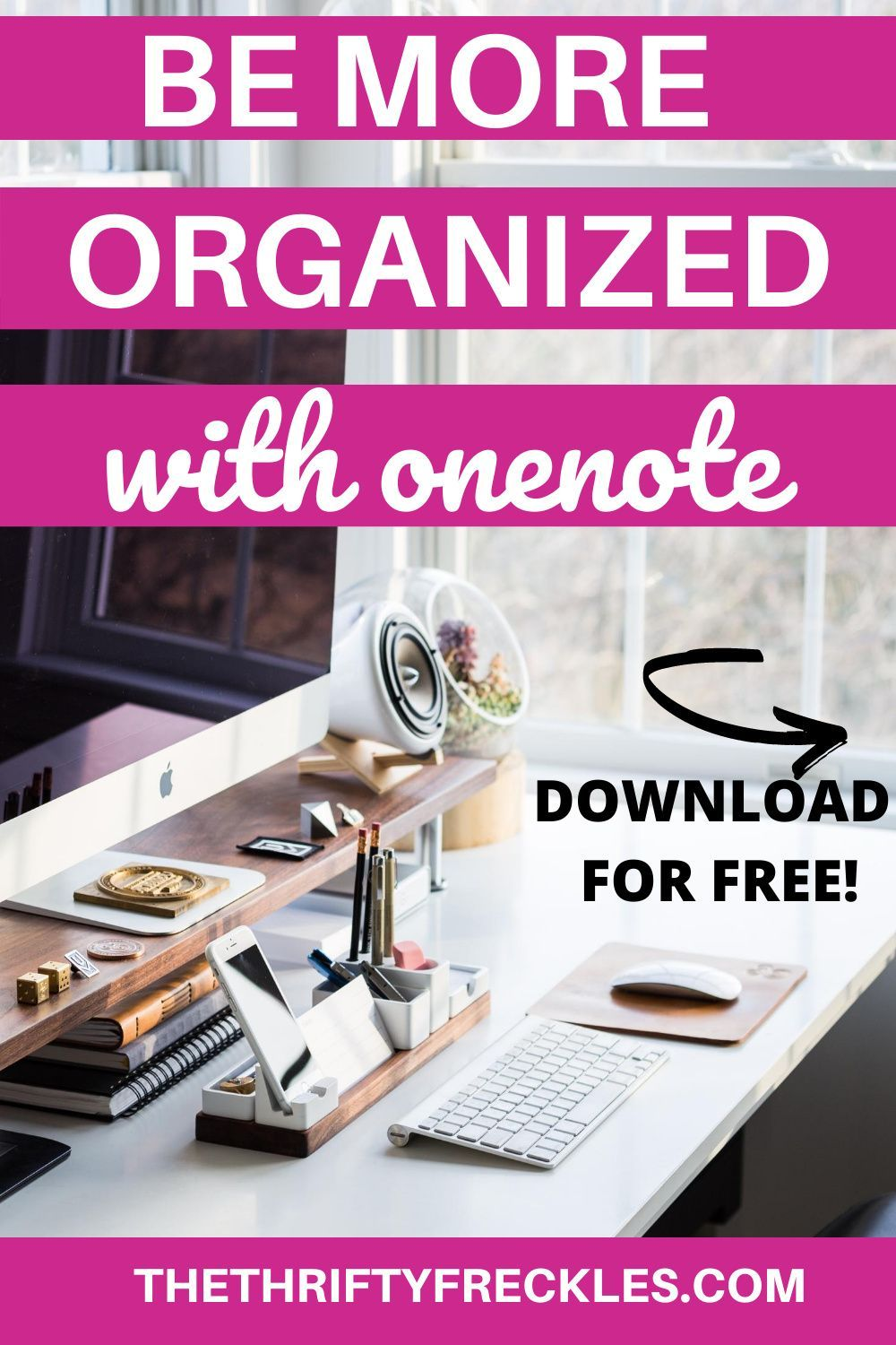 Free onenote template 20202021 calendar the thrifty