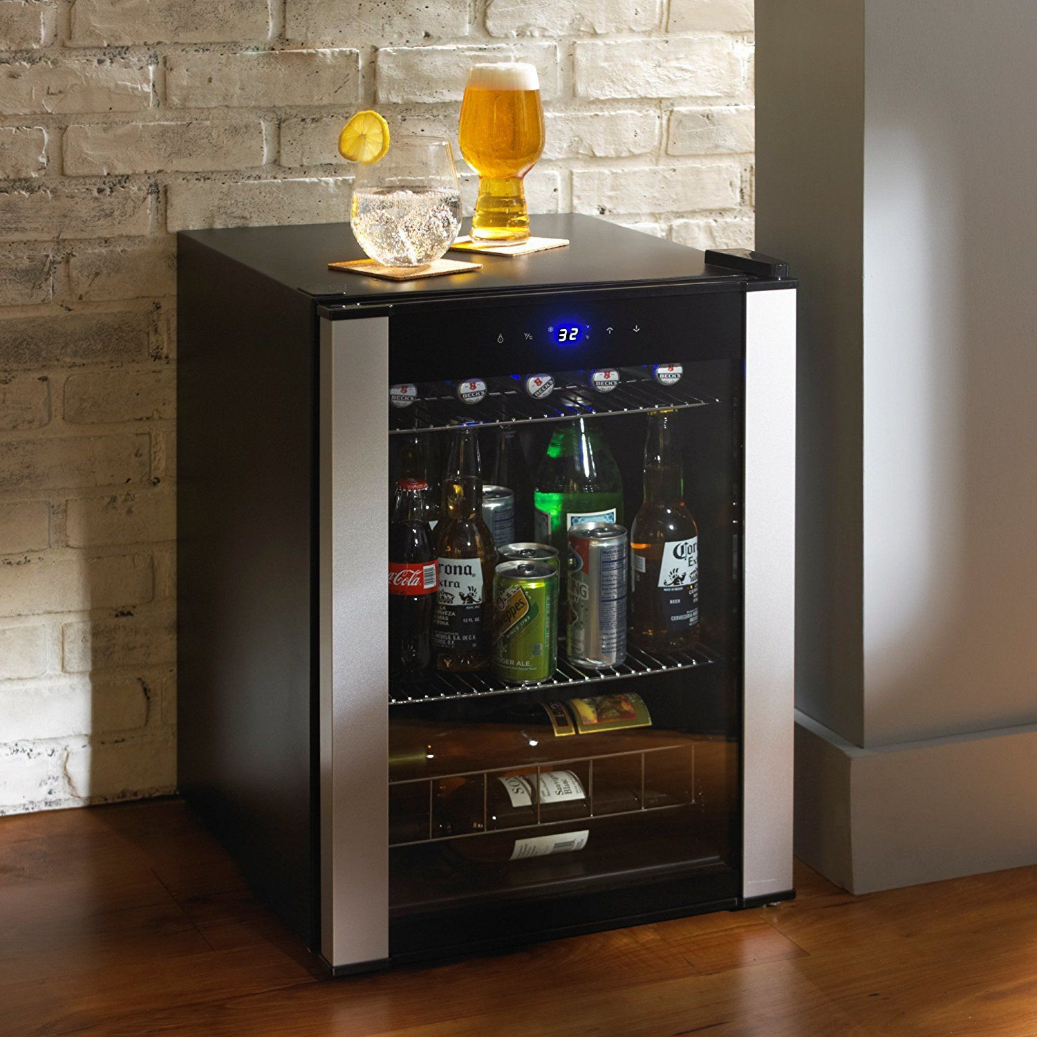 Highest Rated pact Wine Beverage Cooler Refrigerator Counter Top