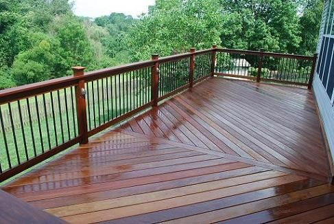Deck Railing Design Ideas outdoor garden good wood and metal deck railing design ideas deck railing designs Deck Railings Deck Railings