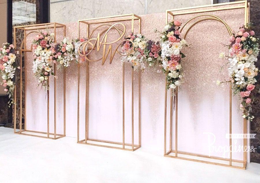 Wedding Backdrop Gerbang Pernikahan Latar Belakang Pernikahan Ide Perkawinan