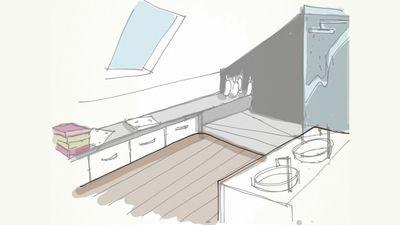 Refaire sa salle de bains installer une douche l 39 italienne attic attic bathroom and house for Installer une douche italienne