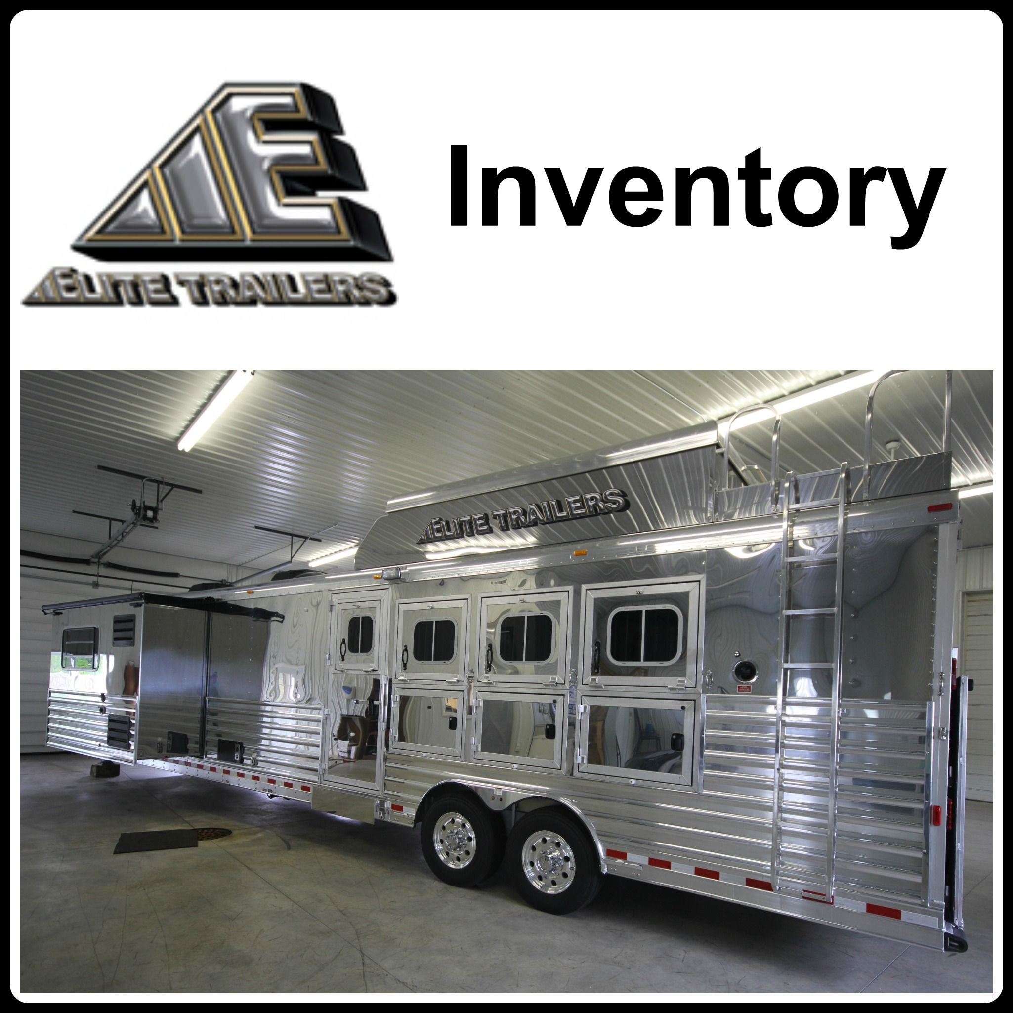 Elite trailers horse trailers from triple c trailer