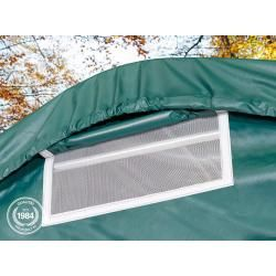 Photo of Tent garage 3.3×7.2m Pvc 720 g / m² dark green waterproof Professional garage tent Toolport