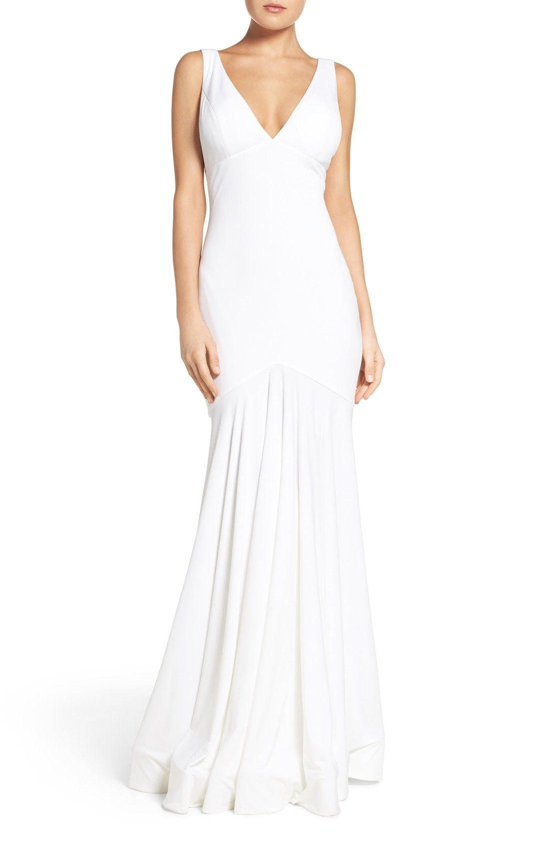 JVN by Jovani Stretch Mermaid Gown available at #Nordstrom | Winter ...